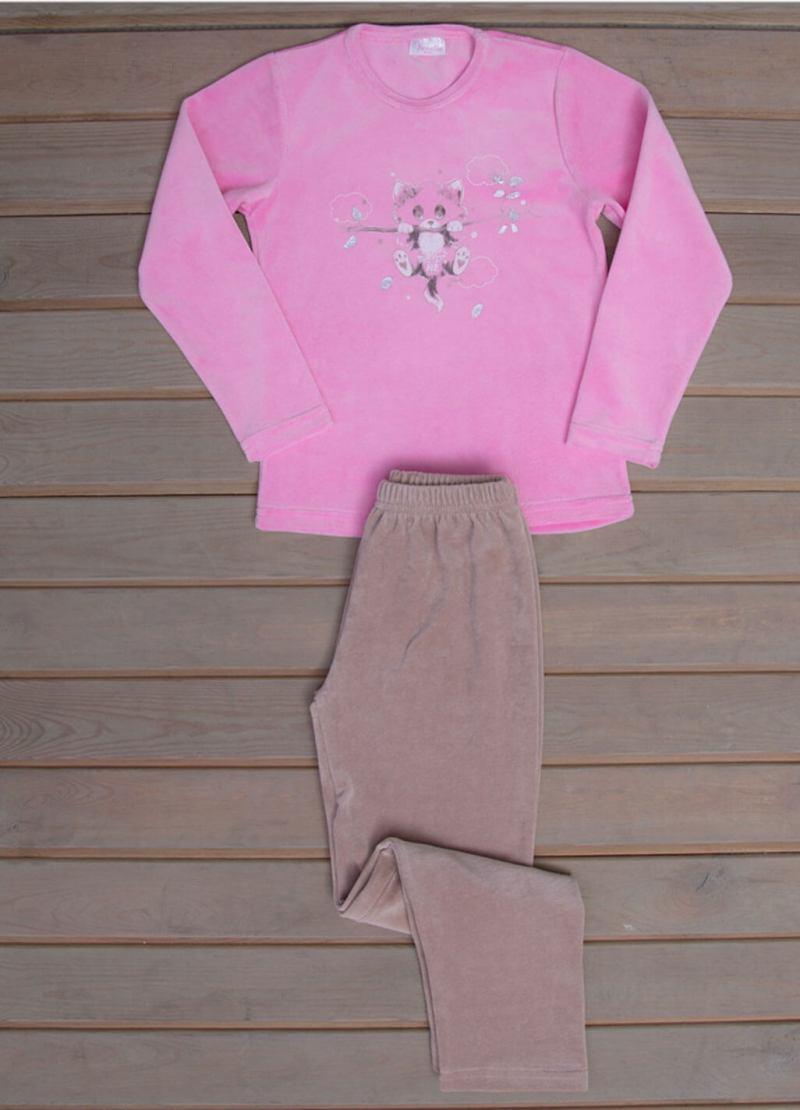 Пижама детская велюр 6110220000