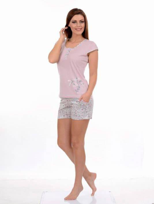 Пижама женская шорты Metin 8670