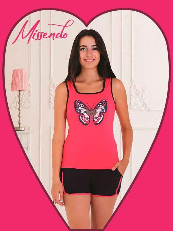 Пижама женская шорты MIS-H 405