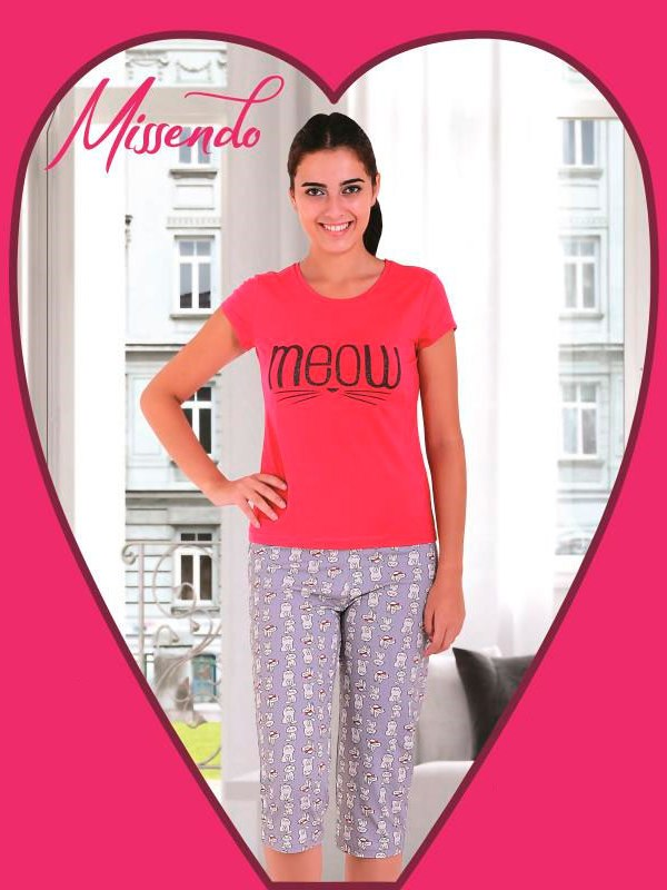 Пижама женская капри MIS-H 505