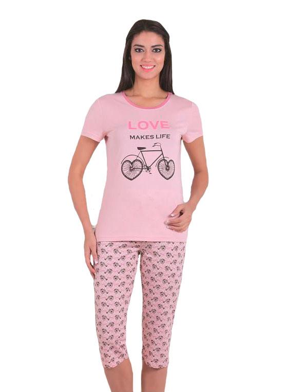 Пижама женская капри SAB. H 52803