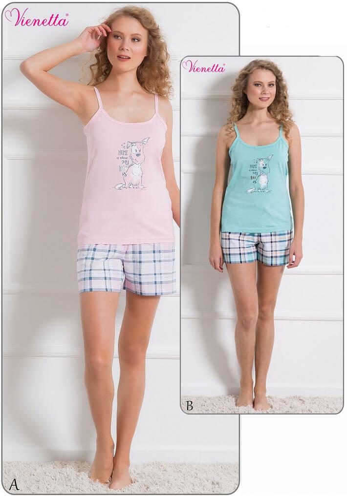Пижама женская шорты 6100726602