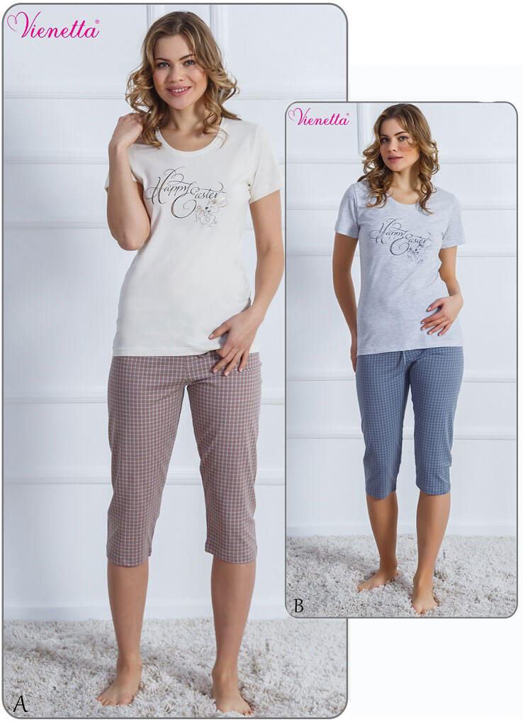 Пижама женская Капри 6102220352