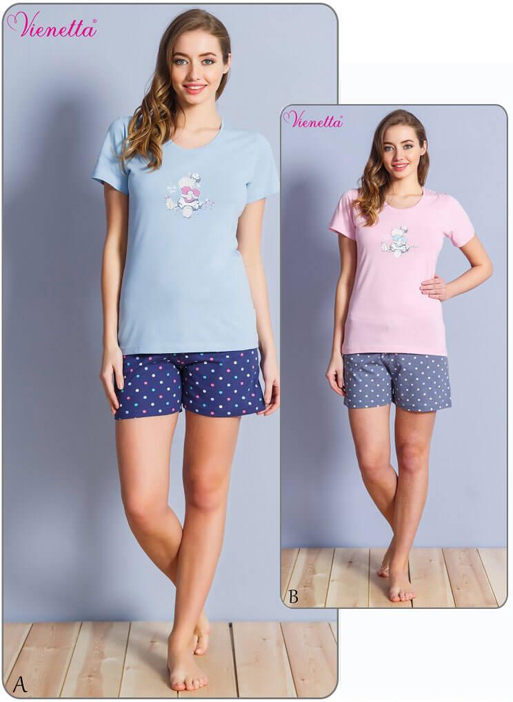 Пижама женская шорты 6103044451