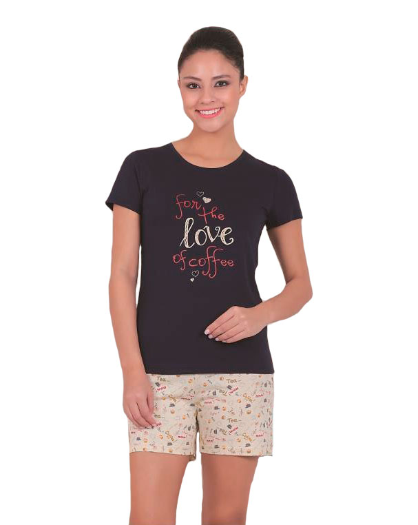 Пижама женская шорты SAB. H 62805 LAC