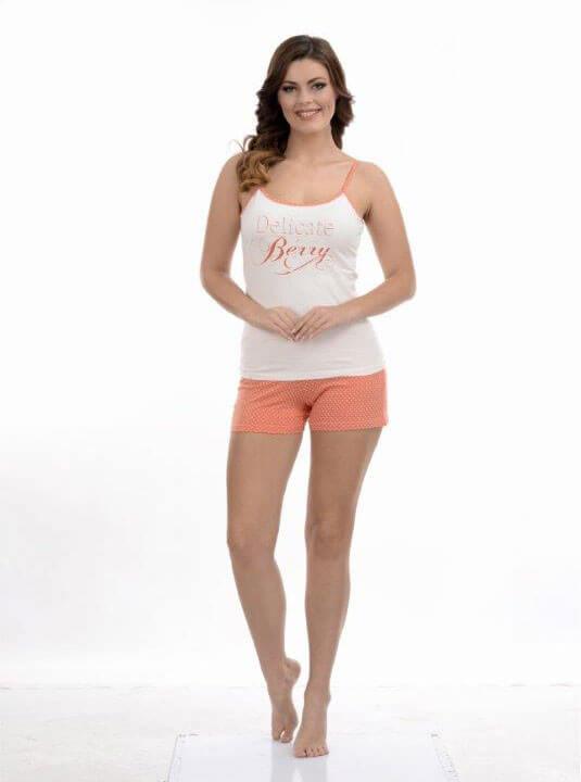 Пижама женская шорты Metin 8636
