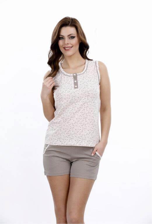 Пижама женская шорты Metin 8698