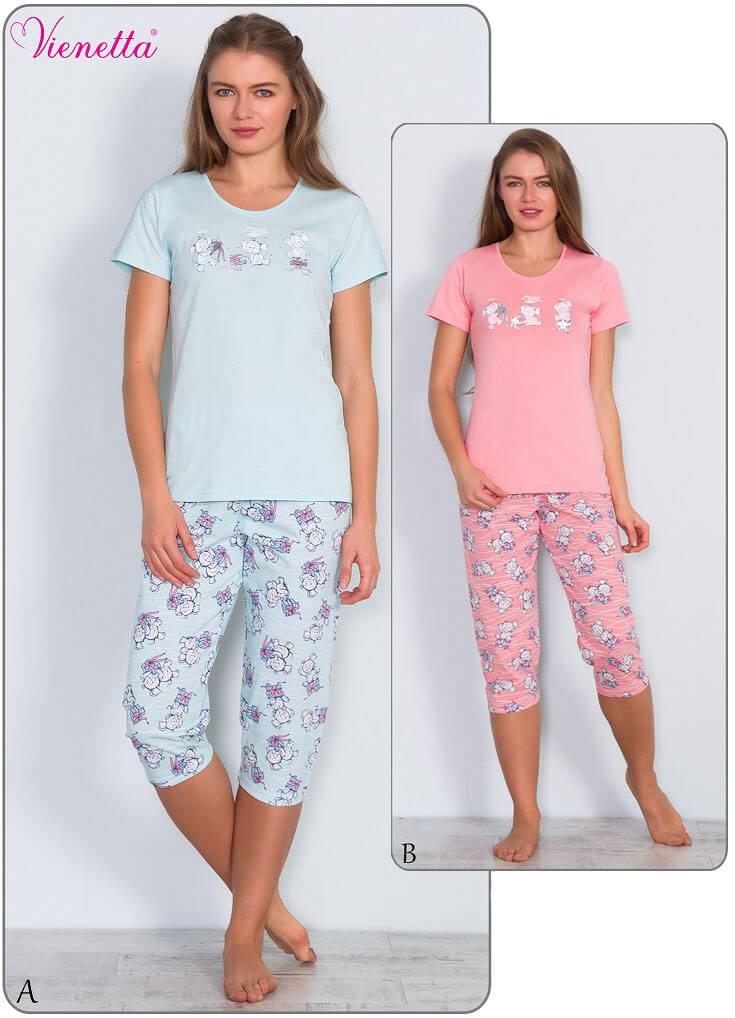 Пижама женская Капри 6080650332