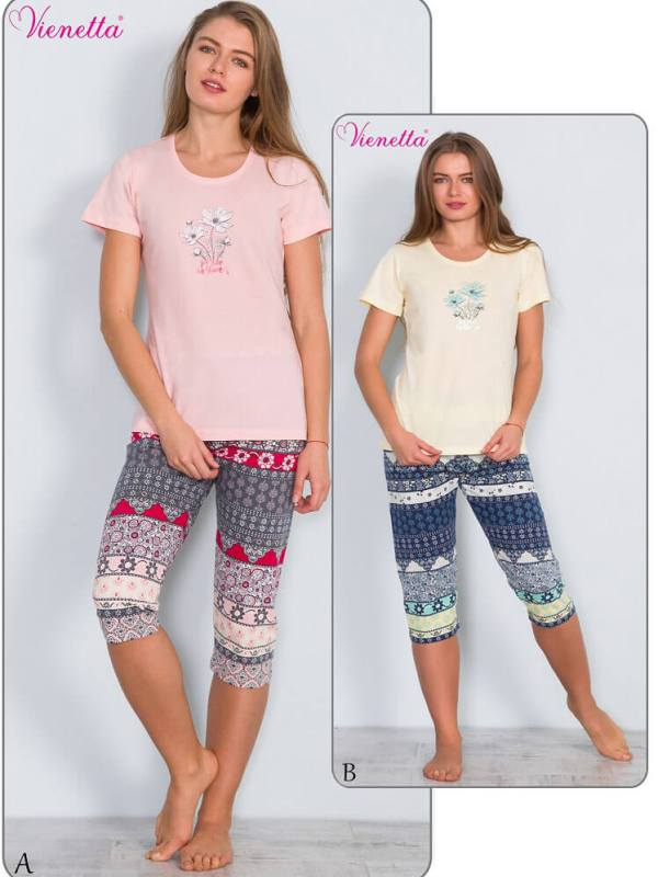 Пижама женская Капри 6090414438
