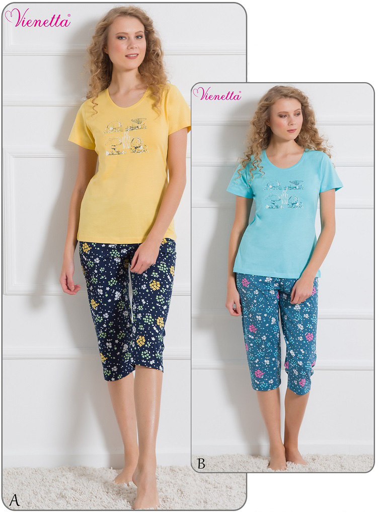 Пижама женская Капри 6100993037