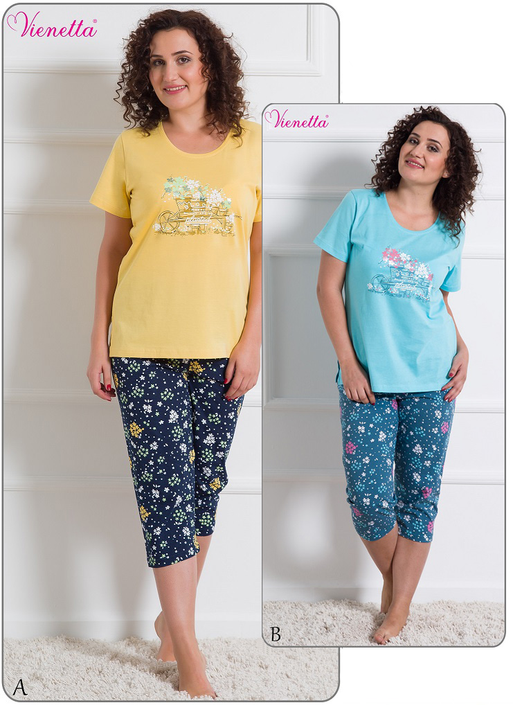 Пижама женская Капри 6101023037