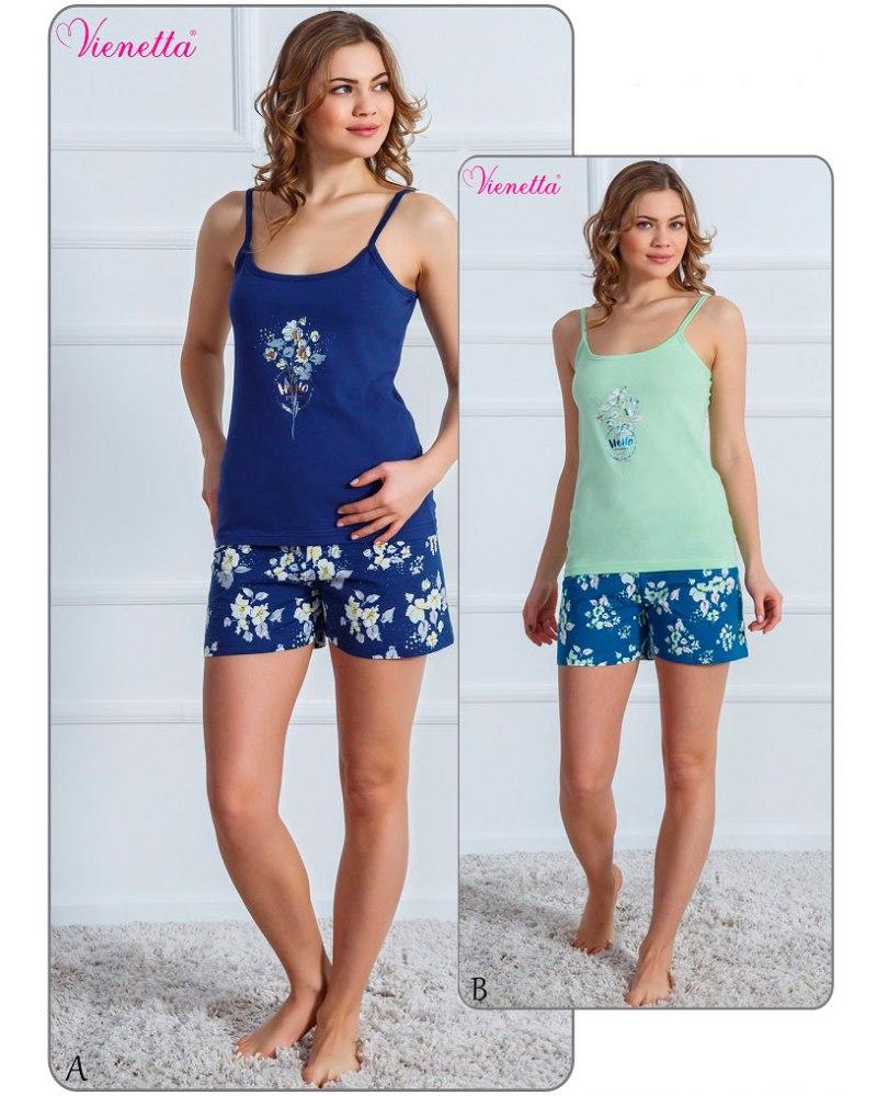Пижама женская Шорты 6101857917