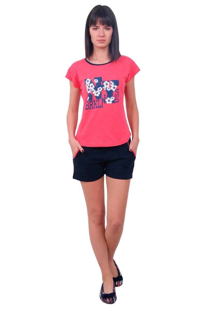 Пижама женская шорты Nicoletta 80650