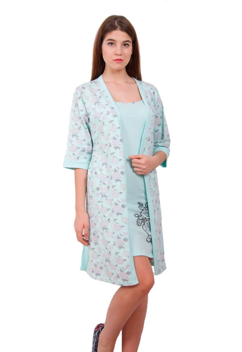 Набор халат ночная рубашка NIC 91800