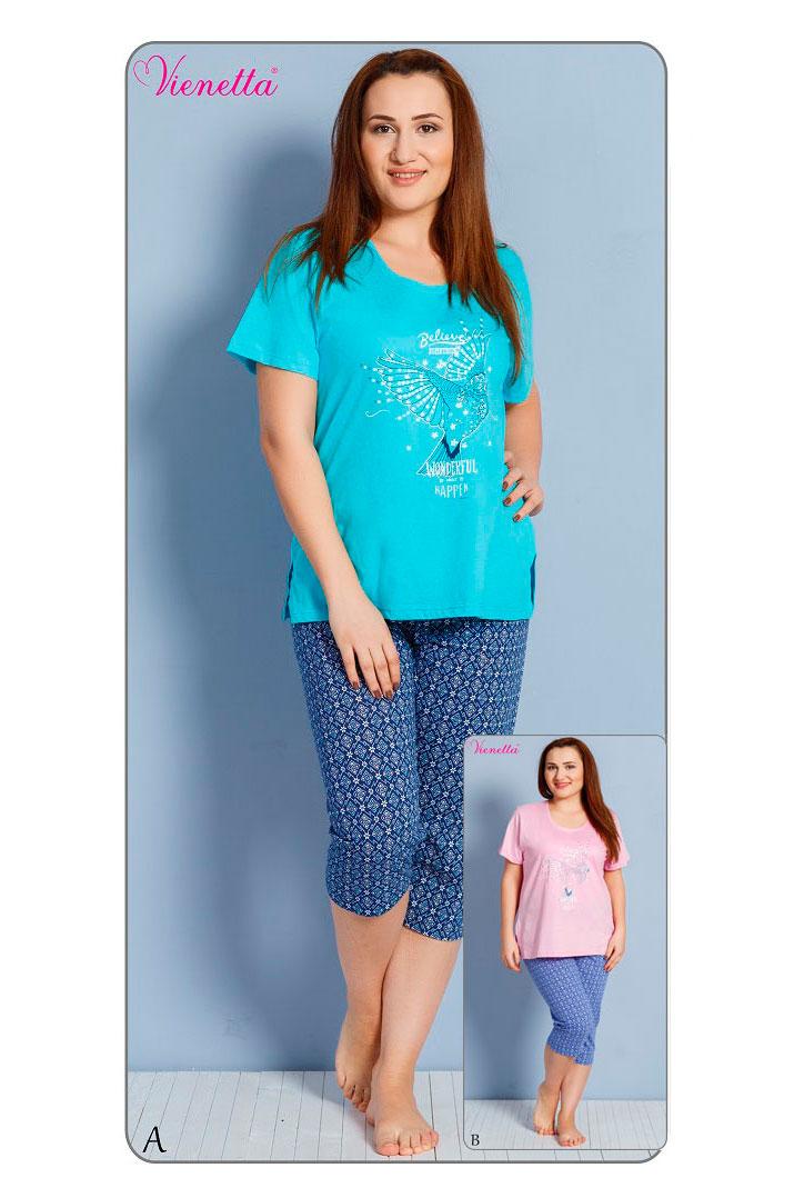 Пижама женская капри 6120600253