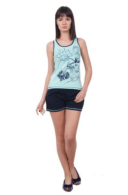 Пижама женская шорты Nicoletta 80641