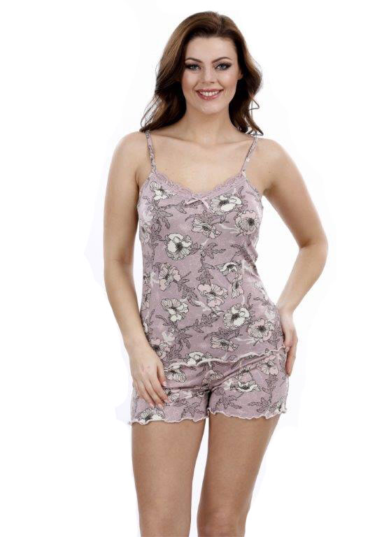 Пижама женская шорты Metin 8682