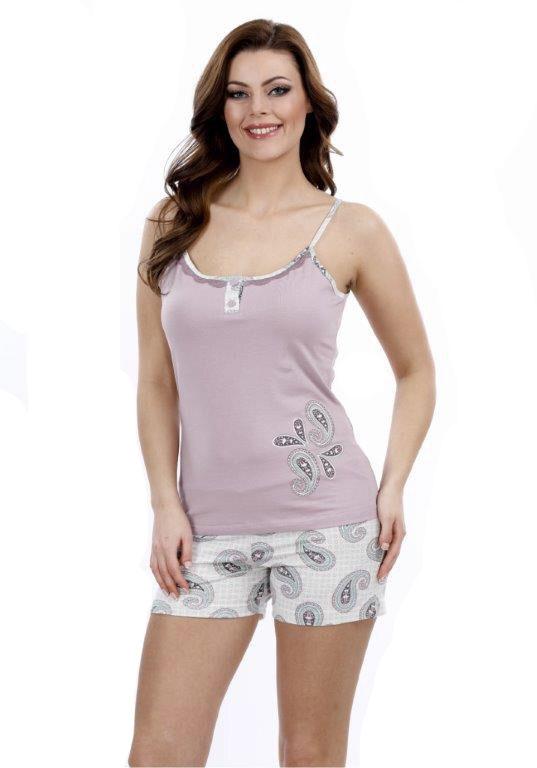Пижама женская шорты Metin 8726