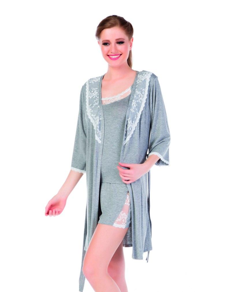 Халат пижама шорты Cocoon 806 STSB