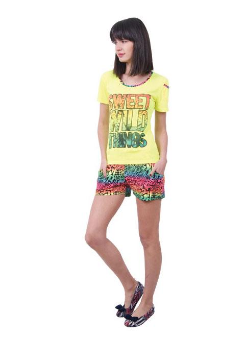 Пижама женская шорты Nicoletta 80662