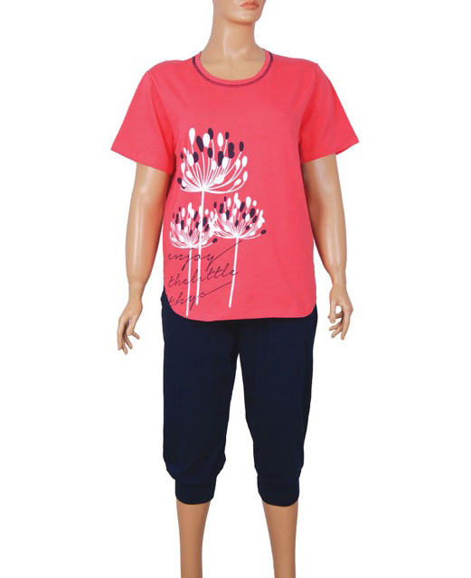 Пижама женская капри Nicoletta 84119