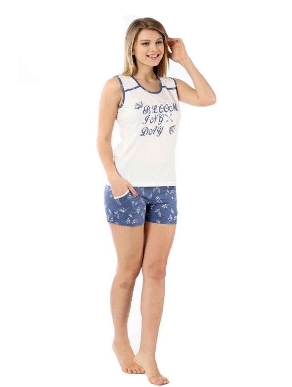 Пижама женская Шорты Metin 8832