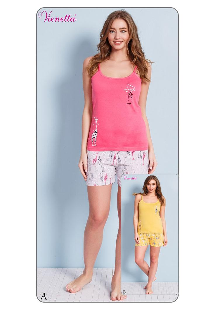 Пижама женская шорты 7020960327