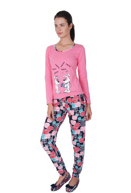 Пижама женская брюки NICOLETTA 86732