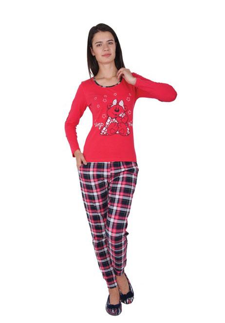 Пижама женская брюки NICOLETTA 86743
