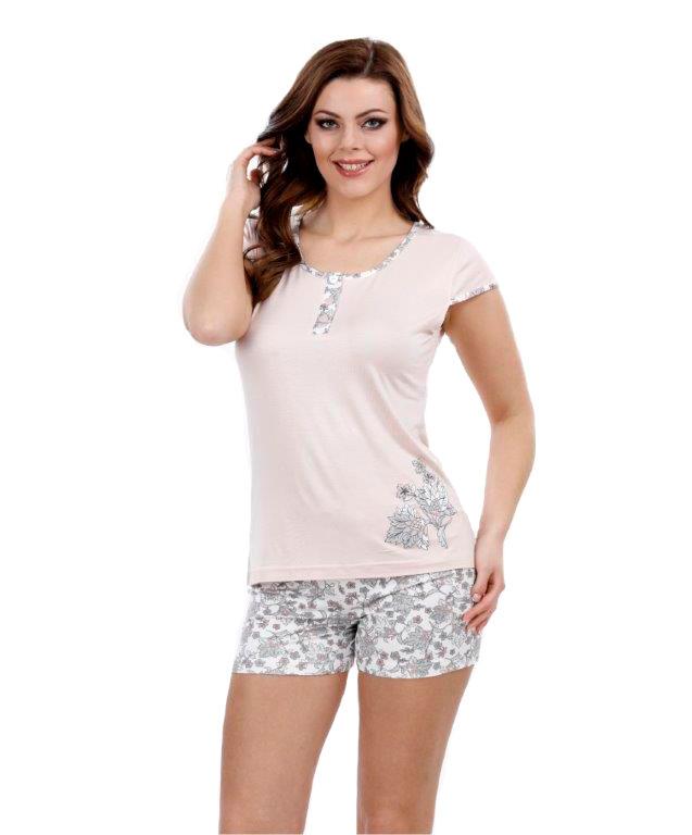 Пижама женская шорты Metin 8738