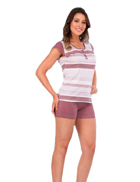 Пижама женская шорты Metin 8906