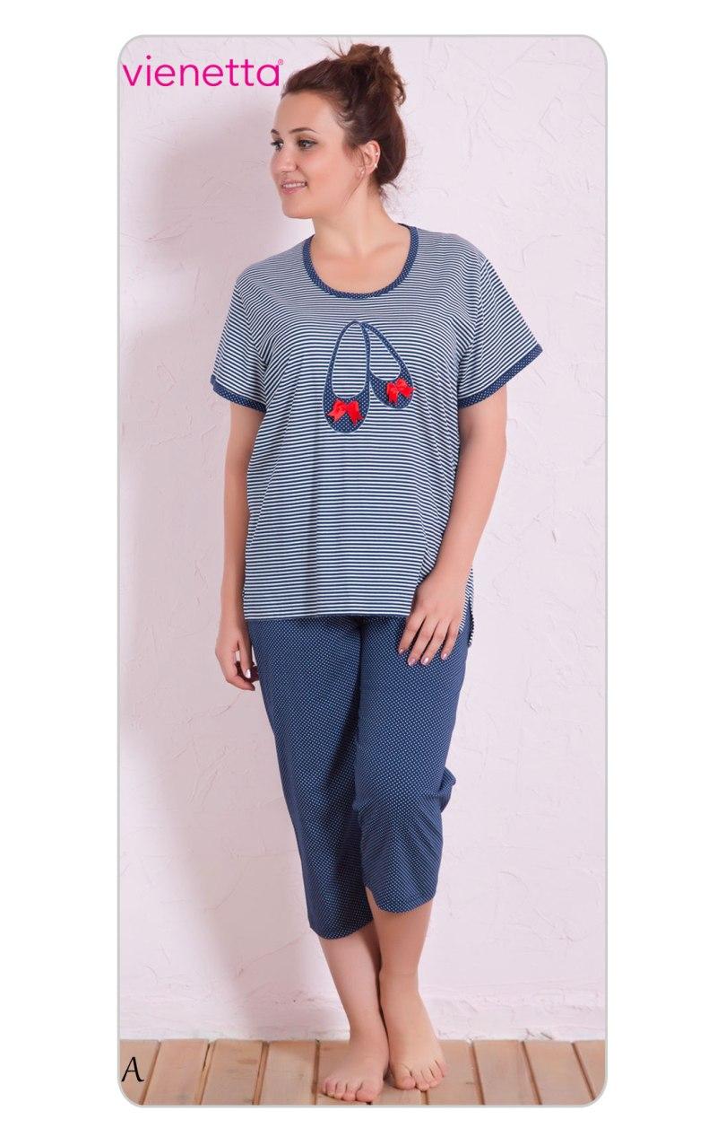 Пижама женская капри 7050711913