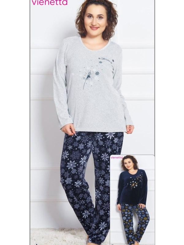 Пижама женская Велюр 7042041843