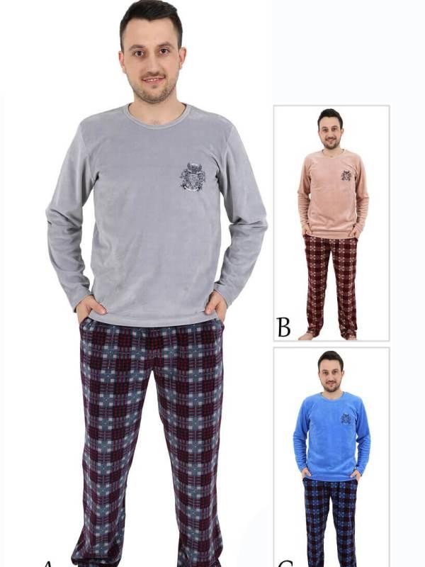 Пижама мужская Велюр 4120364556