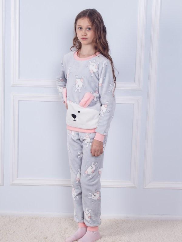 Пижама детская махра Sofi Soft 10824