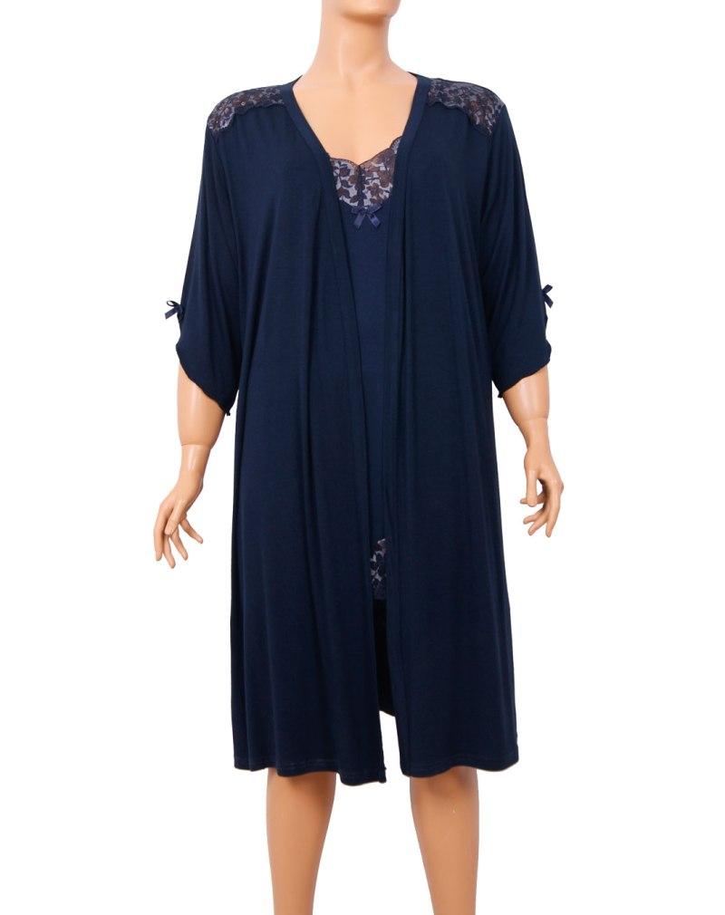 Набор халат ночная рубашка NIC 84109