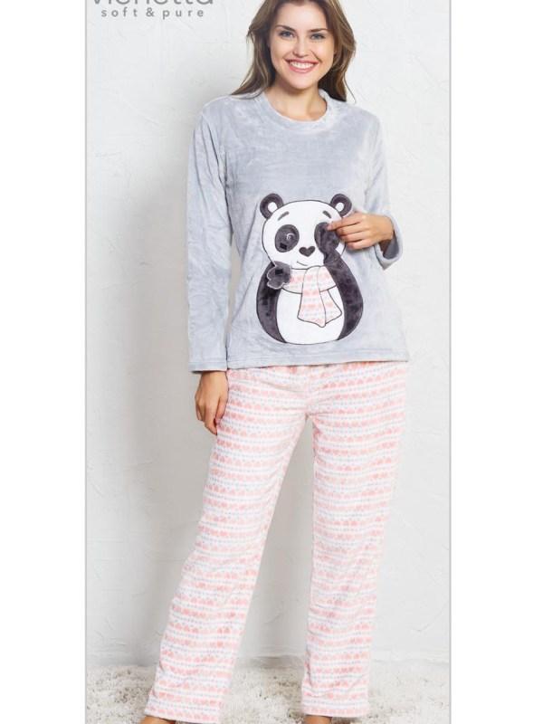Пижама женская брюки SNK107 3375