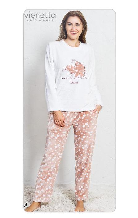 Пижама женская брюки SNK122 3390