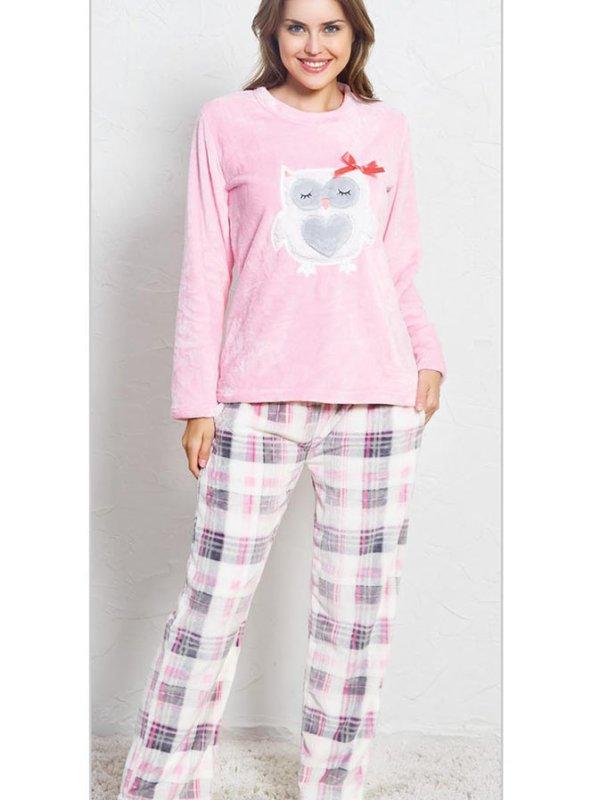 Пижама женская брюки SNK-125 3393