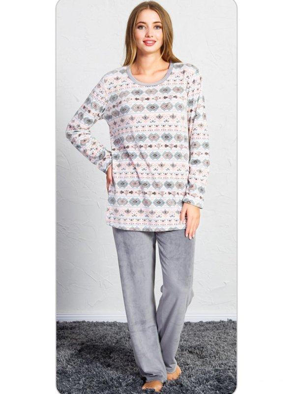 Пижама женская брюки SNK-716 3461