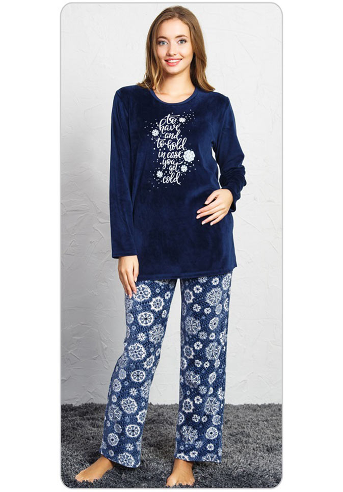 Пижама женская брюки SNK-755 3501