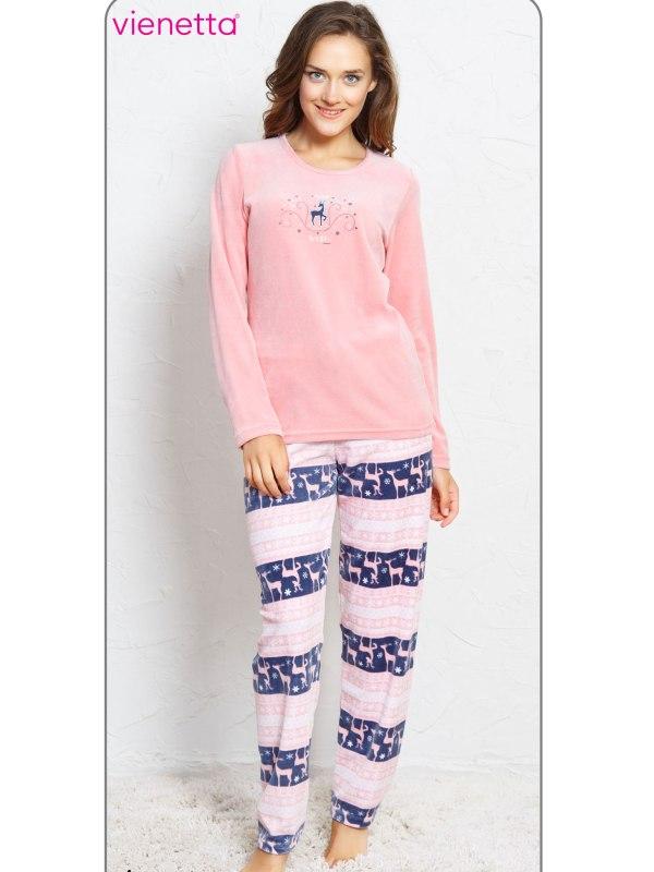 Пижама женская Велюр 7040771849