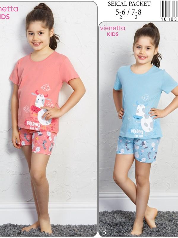 Пижама детская шорты