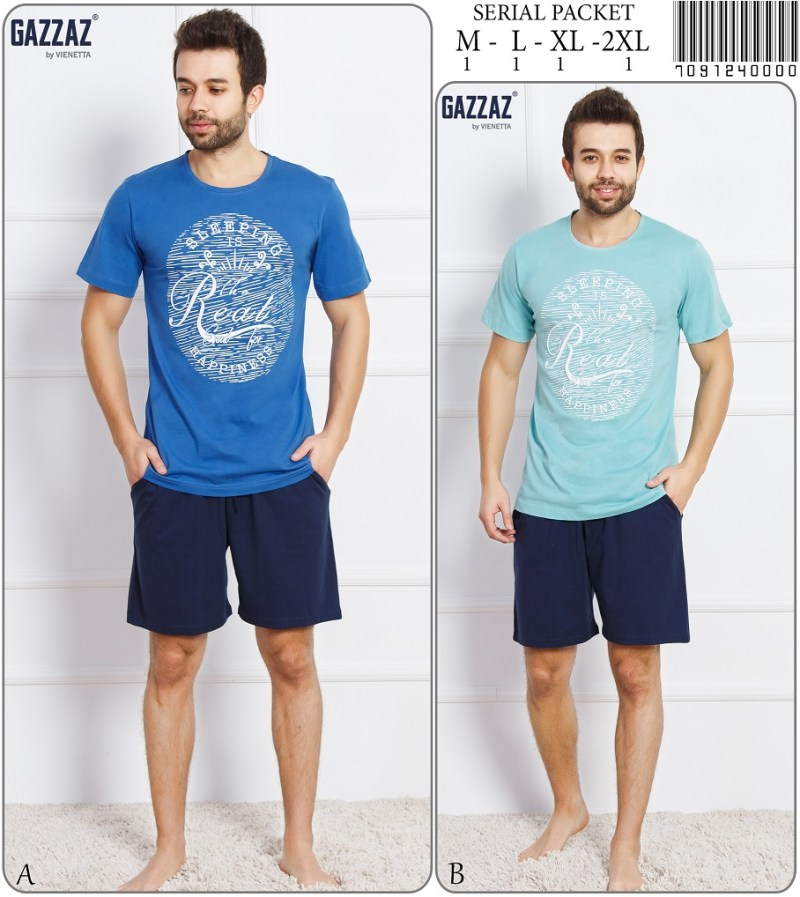 Пижама мужская шорты