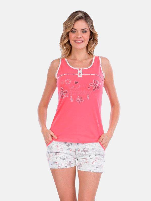 Пижама женская шорты