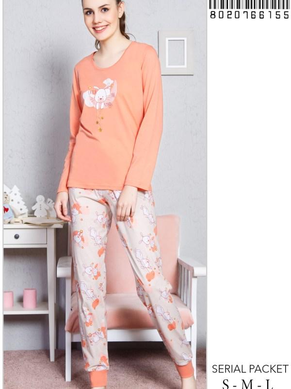 Пижама женская Брюки 8020766155