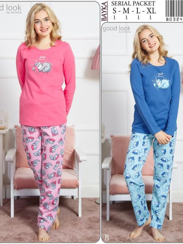Пижама женская Брюки 8032446055