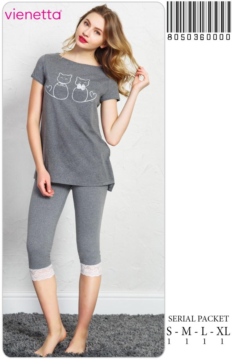 Пижама женская Капри 8050360000