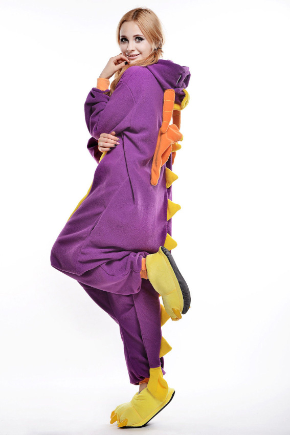 Кигуруми Purple Дракон (XL)