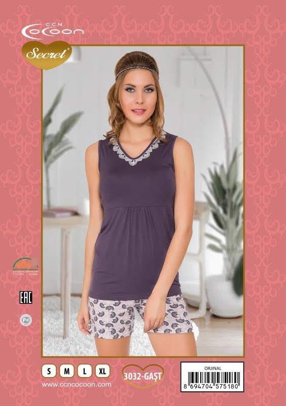 Пижама женская Шорты Cocoon 3032 GAST
